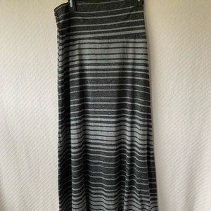 Mossimo Supply Co Maxi-Stripe Skirt- Sz M